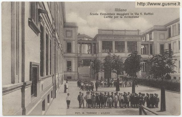 Postcards it lombardia mi milano for Scuole serali milano